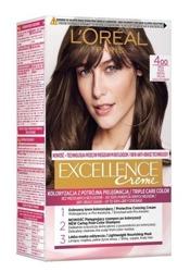 LOREAL EXCELLENCE CREME Farba do włosów 4.0 Brąz