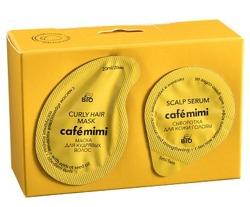 Le Cafe Mimi Dwuetapowy zestaw do pielęgnacji włosów kręconych 20ml+5ml