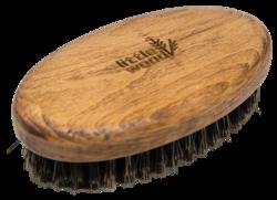 Little Wood Szczotka do brody z dzika Kartacz-Orzech