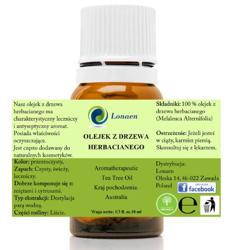 Lonaen 100% Olejek z drzewa herbacianego 10ml