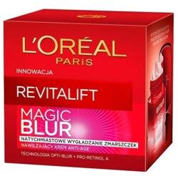 Loreal REVITALIFT MAGIC BLUR Nawilżający krem anti-age 50ml
