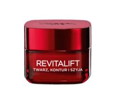 Loreal Revitalift Nawilżający krem modelujący twarz, kontur, szyja 50ml