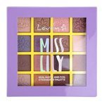 Lovely Miss Lily Eyeshadow Palette Paleta cieni do powiek