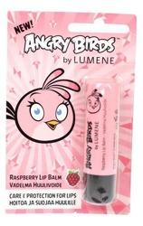 Lumene Angry Birds, Raspberry Lip Balm, Ochronna pomadka do ust, Malinowa, 4.5g