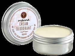 MANNA Bezzapachowy dezodorant w kremie Sensitive Skin 50ml