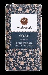 MANNA Cedarwood Shaving Soap Mydło w kostce do golenia 90g