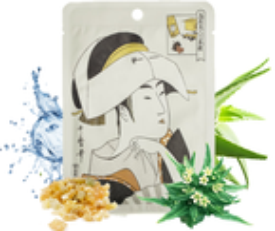 MITOMO maska UKIYO-E K.Hialuronowy+Lithospermu Maska z kwasem hialuronowym i ekstraktem z nawrotu lekarskiego  25g