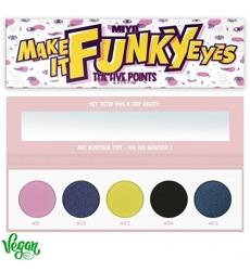 MIYO FIVE POINTS Palette Paleta 5 cieni do powiek 26 Make It Funky Eyes 6,5g