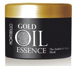 MONTIBELLO Gold Oil Essence A&A Mask Bursztynowo-arganowa maska do włosów 500ml