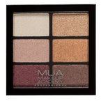 MUA 6 shade palette Paleta cieni do powiek Rusted Wonders 7,8g