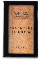 MUA Essential Shadow pearl Pojedynczy cień do powiek Golden Honey 2,4g
