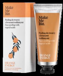 MakeMeBio Orange Energy peeling do twarzy z kwasami roślinnymi 40ml