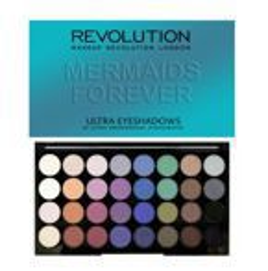 Makeup Revolution 32 Eyeshadow Palette - Paleta 32 cieni do powiek Mermaids Forever