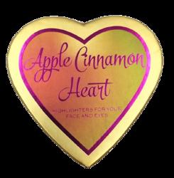 Makeup Revolution Apple Cinnamon Heart Rozświetlacz do twarzy