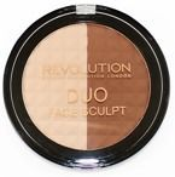Makeup Revolution Duo Face Sculpt - Zestaw do konturowania twarzy 15g