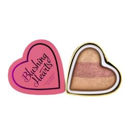Makeup Revolution I heart  Makeup Blushing Hearts-Peachy Keen Heart Blusher