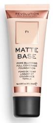Makeup Revolution Matte Base Foundation Podkład matujący F1 28ml