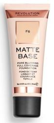 Makeup Revolution Matte Base Foundation Podkład matujący F6 28ml
