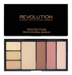 Makeup Revolution Protection Palette Contouring Kit - Paleta do konturowania twarzy Light/Medium, 29,7 g