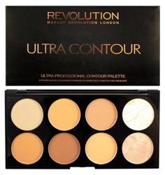 Makeup Revolution Ultra Contour Palette Medium Dark Paleta do konturowania twarzy 13g
