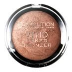 Makeup Revolution Vivid Baked Bronze - Wypiekany puder brązujący Golden Days 13 g