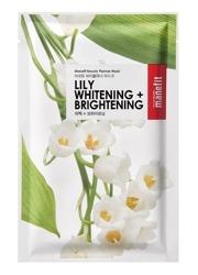 Manefit Beauty Planner Lily Mask Maska w płachcie na bazie ekstraktu z lilii 20ml