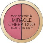 Max Factor Miracle Cheek Duo Blush + Highlight Duo róż + rozświetlacz 30 Dusky Pink & Copper 11g
