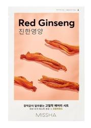 Missha AIRY Fit Sheet Mask Red Ginseng Odżywcza maska w płachcie Czerwony żeń-szeń 19g