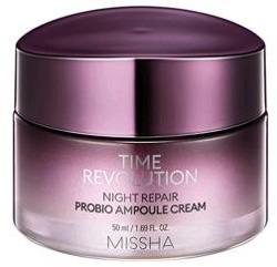 Missha Time Revolution Night Repair Probio Ampoule Cream Krem ujędrniający na noc z probiotykami 50ml