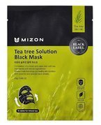 Mizon Black Mask Tea Tree Solution Czarna maska w płacie 25g