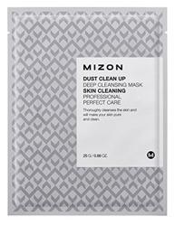 Mizon Dust Clean Up Deep Cleansing Mask - Głęboko oczyszczająca maska na płacie bawełny do twarzy 25 g
