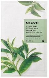 Mizon Joyful Time Essence Mask Green Tea Nawilżajaca maska w płachcie 23g
