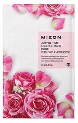 Mizon Joyful Time Essence Mask Rose Nawilżająca i zwężająca pory maska w płachcie 23g