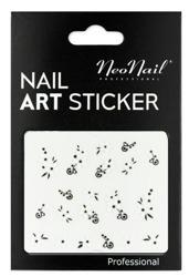 NEONAIL Naklejki na paznokcie Black&white  2804-19