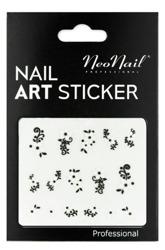 NEONAIL Naklejki na paznokcie Black&white  2804-23
