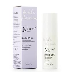 Nacomi Next Level Be Like Phoenix Retinol 0,5% Serum do twarzy z retinolem 0,5% 30ml