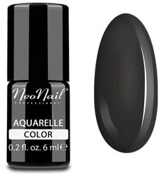 NeoNail Aquarelle Lakier 5757 - Sephia Aquarelle - Lakier hybrydowy do paznokci o akwarelowym wykończeniu