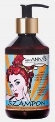 New ANNA RETRO Szampon do włosów z naftą kosmetyczną, olejem rycynowym i olejem arganowym 300ml