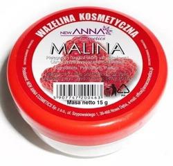 New ANNA Wazelina kosmetyczna malina 15g