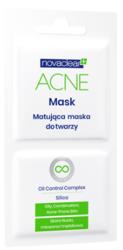 NovaClear Acne Mask Maska do twarzy Cera tłusta i trądzikowa 2 x 5ml