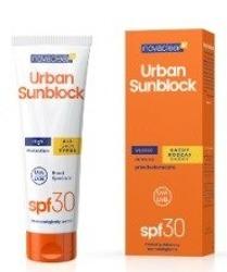 Novaclear Urban Sunblock SPF 30+ Ochronny krem do każdego rodzaju skóry 125ml