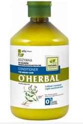 O'Herbal Odżywka do włosów przetłuszczających się z ekstraktem z mięty 500ml