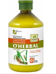 O'Herbal Odżywka wzmacniająca włosy z ekstraktem z korzenia tataraku  500ml