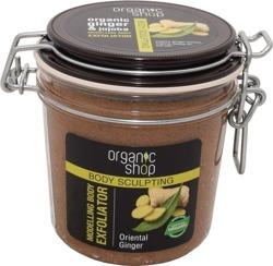 Organic Shop Modelujący Eksfoliator  Scrub do ciała Orientalny imbir 350ml