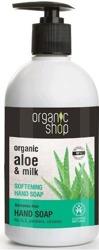 Organic Shop Mydło do rąk zmiękczające z aloesem 500ml