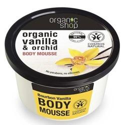 Organic shop Mus do ciała Wanilia Bourbon 250ml