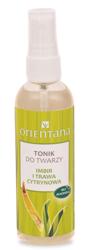Orientana Imbir i Trawa Cytrynowa - Tonik do twarzy dla cery mieszanej 100 ml