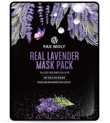 PAX MOLY Real Lavender Mask Pack Oczyszczająca maska w płachcie 25ml
