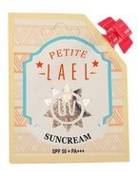 PETITE Lael UV Suncream SPF50+ Krem do twarzy z filtrem SPF50+ 10ml
