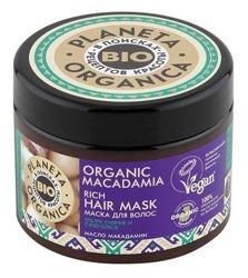 Planeta Organica BIO maska do włosów Macadamia 300ml